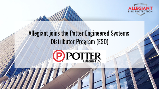 Allegiant joins Potter Engineered Systems