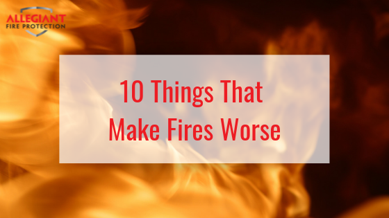 What Makes Fires Worse?